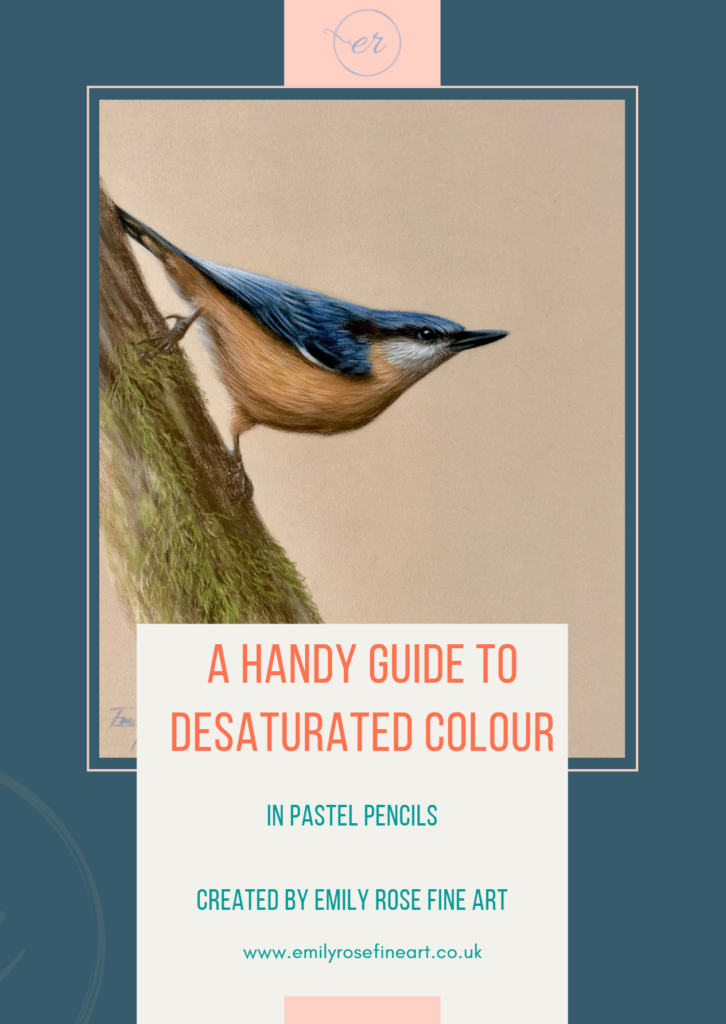 desaturated colour free guide cover